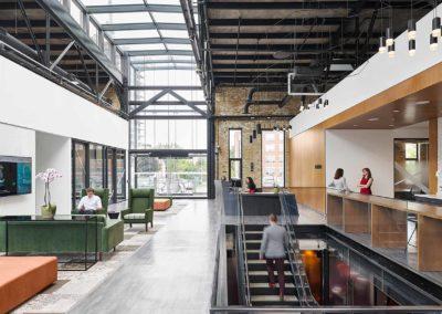 Heritage Revitalization – Modern Lobby