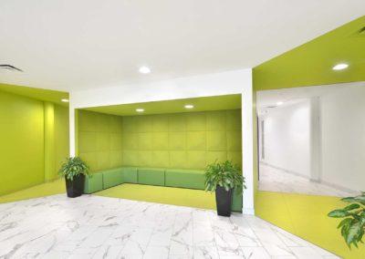 Lobby Renovation – Bright sitting area