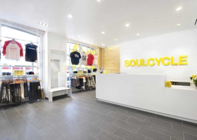 Soulcycle – Storefront and reception