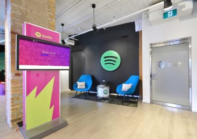 Spotify – Lounge Area