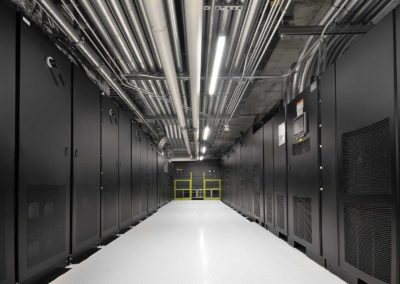 Data Centre Hallway
